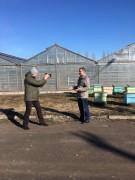 Сюжет по Первому Каналу про зимовку пчёл