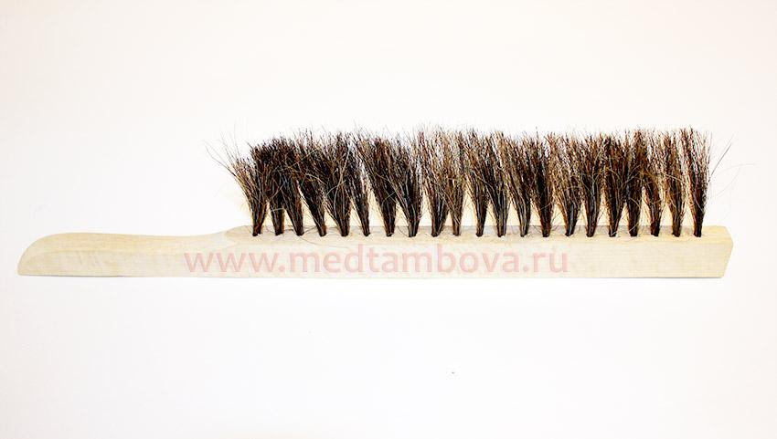 Щетка, натуральный волос 1-но рядная