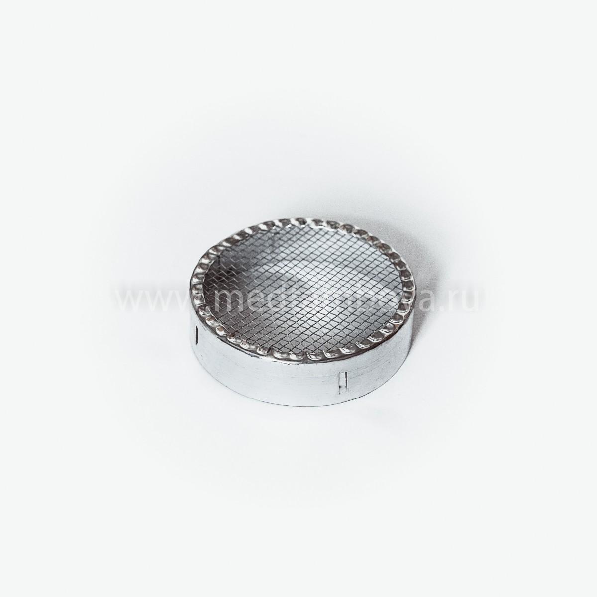 Колпачок для матки круглый металлический 90 мм