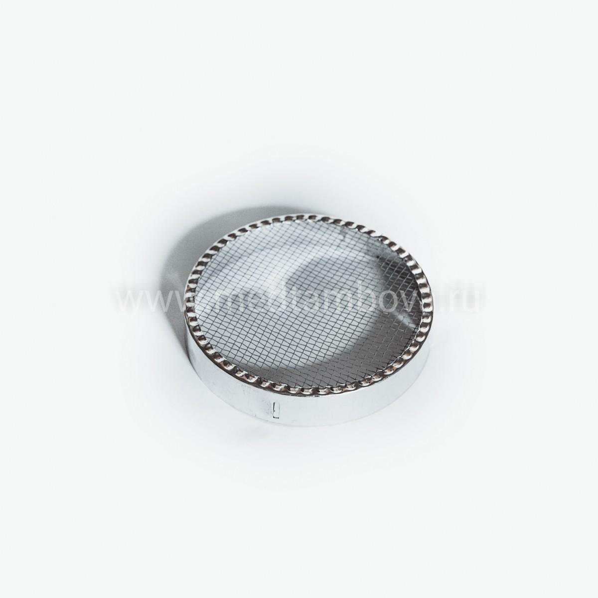 Колпачок для матки круглый металлический 120 мм