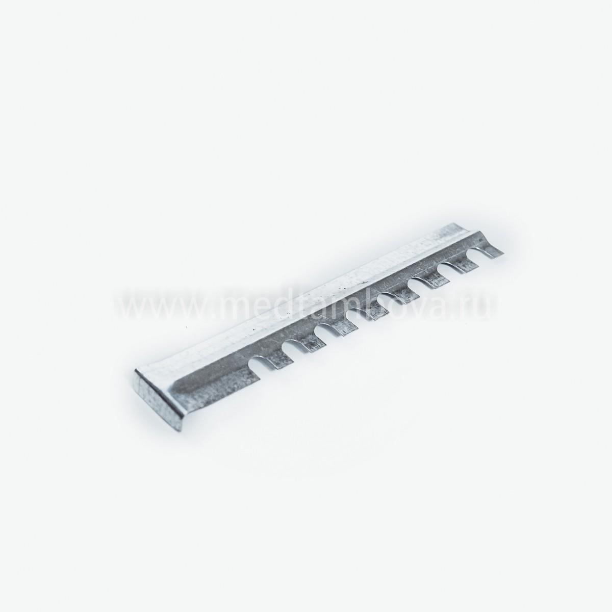 Летковый заградитель 3-Х элементный оцинкованный верхний 45*145