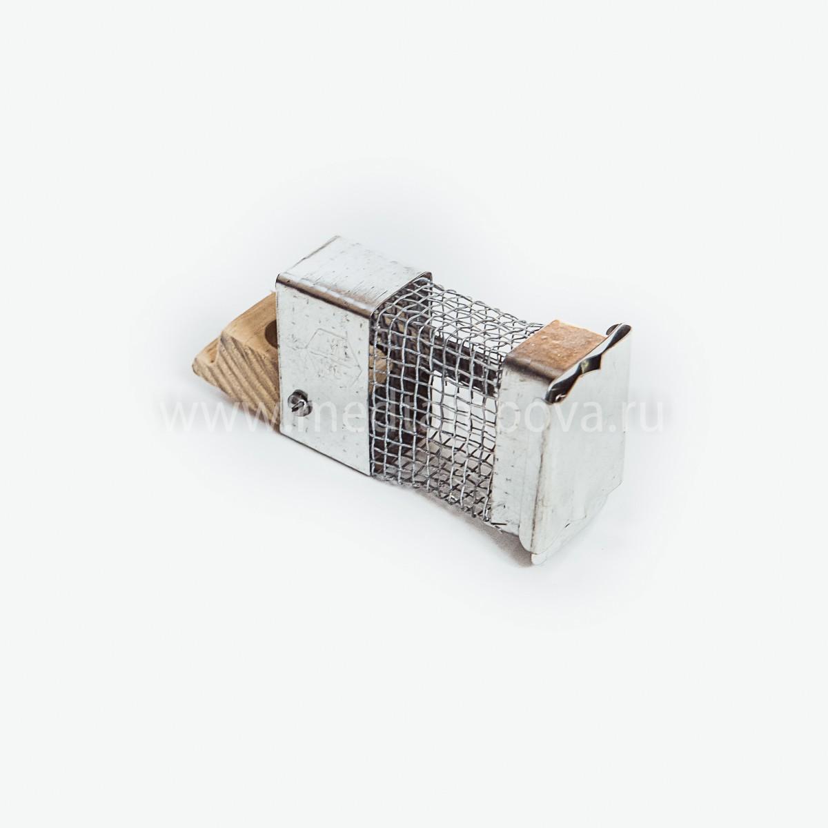 Клеточка Титова из оцинковки (метал/дерево)