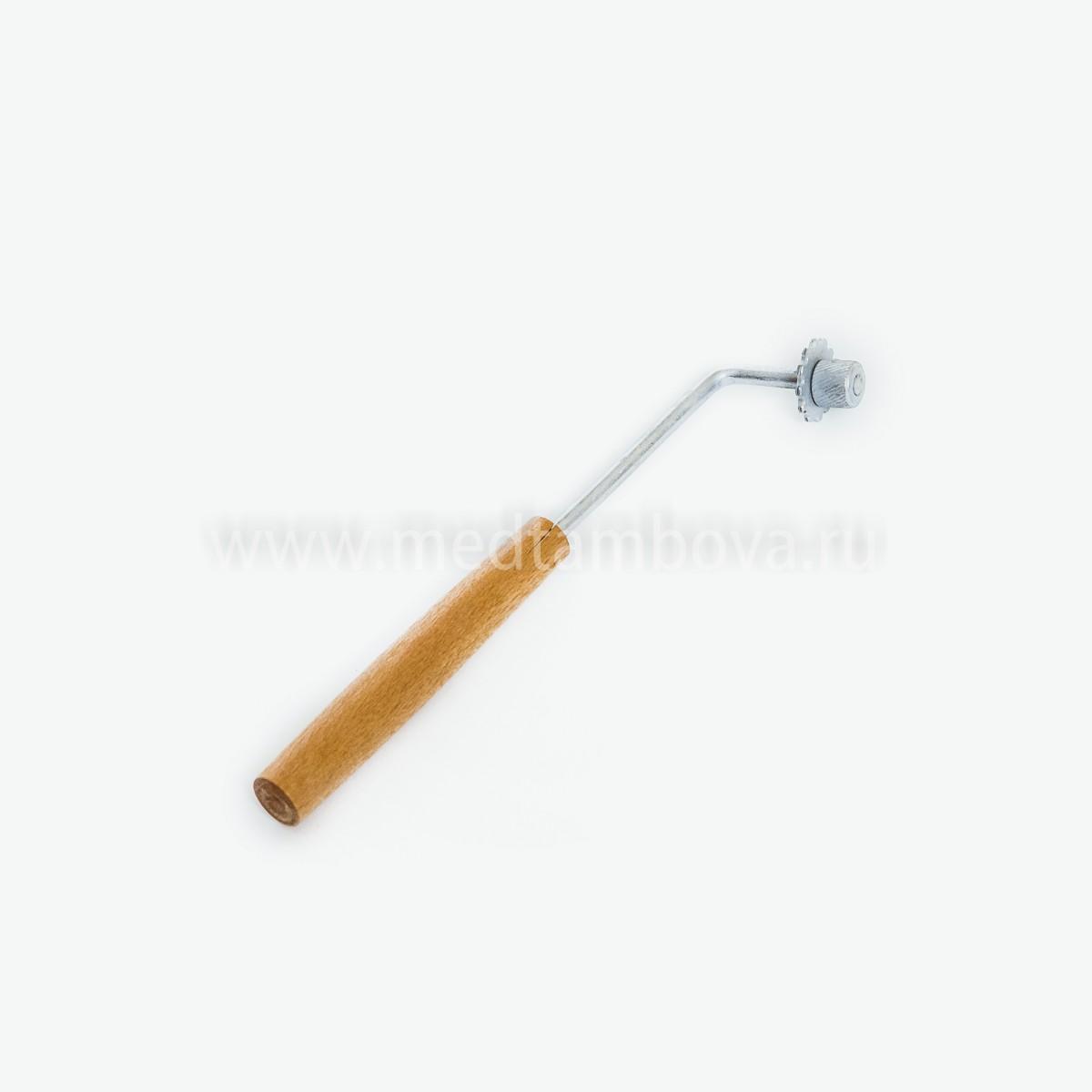 Каток комбинированный ручка деревянная