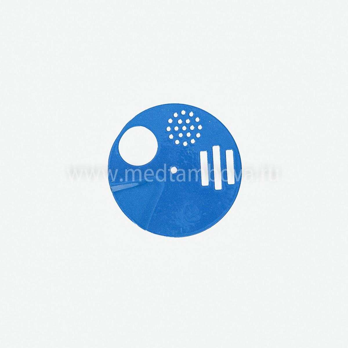 Летковый заградитель круглый 5-ти функциональный полимерный d=90 мм