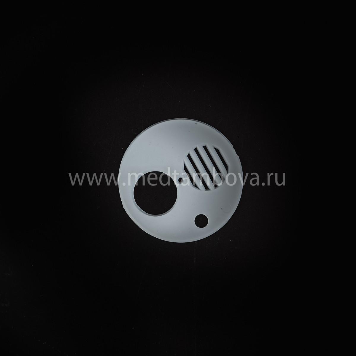 Летковый заградитель круглый 4-х функциональный пластмассовый d=80 мм