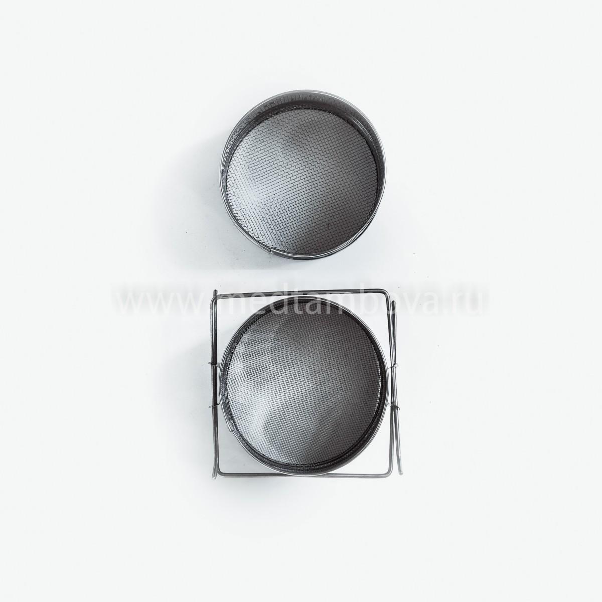Сито-фильтр 200 мм нержавейка ровная сетка