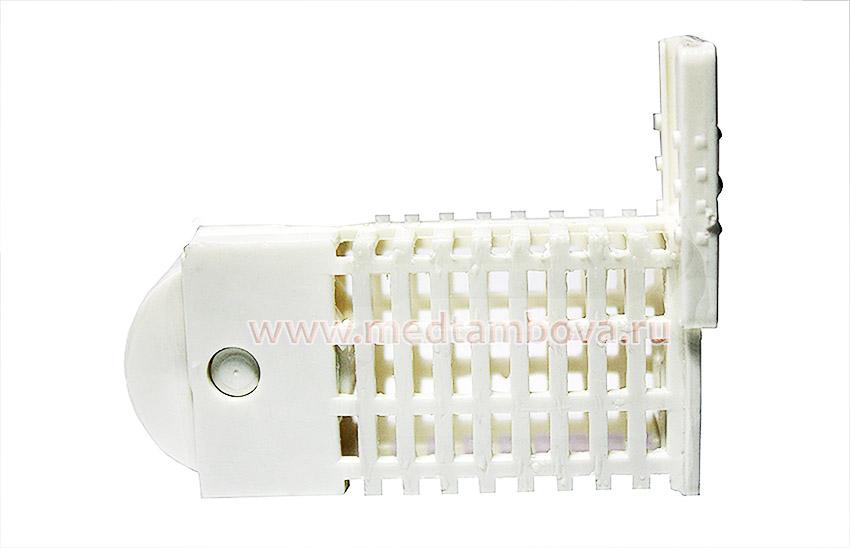 Клеточка Титова пластмассовая с круглым дном