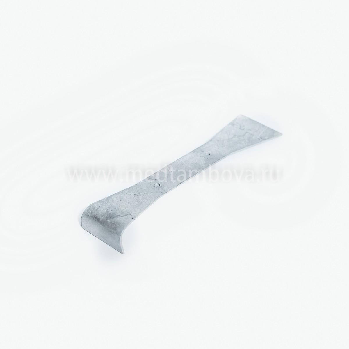Стамеска без ручки оцинкованная 200мм