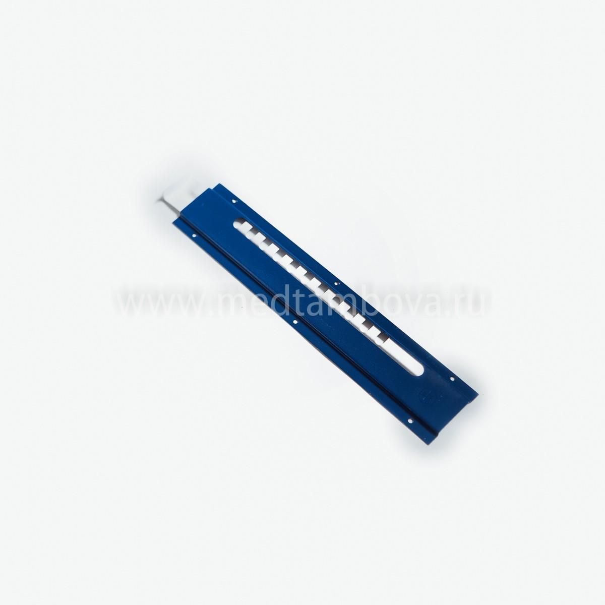 Летковый заградитель 2-х элементный полимерный нижний 30*250