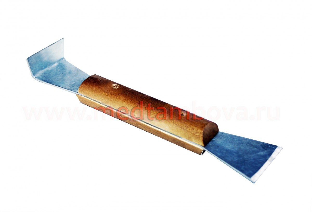 Стамеска оцинкованная ручка деревянная 200 мм